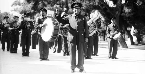 Bandas de música y piezas festeras