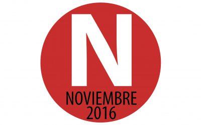 Programación noviembre 2016