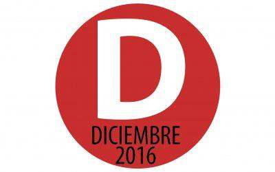 PROGRAMACIÓN DICIEMBRE 2016