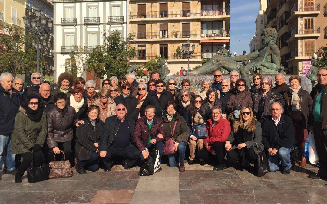Recorrido cultural de Aulas en Valencia