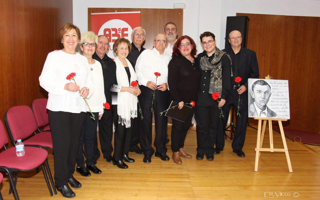 Aulas rindió homenaje a Miguel Hernández