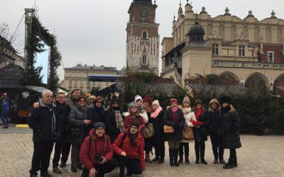 Los alumnos de Aulas viajaron a  Polonia
