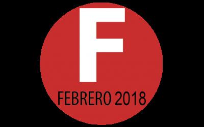 Programación febrero 2018