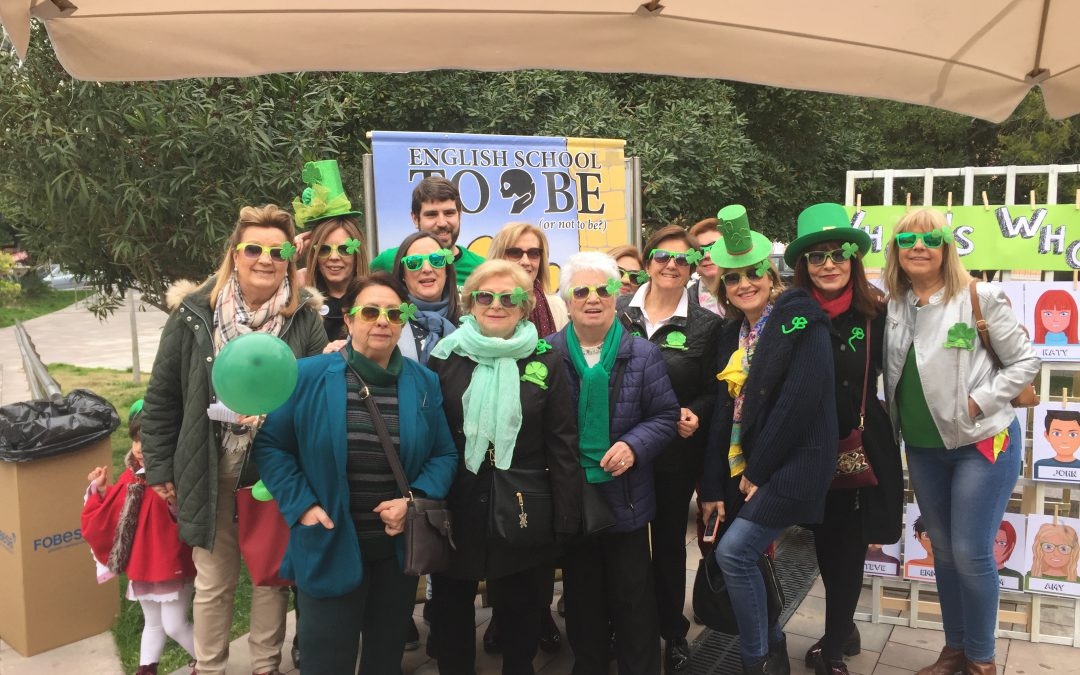 Bailes y canto para St. Patrick´s Day