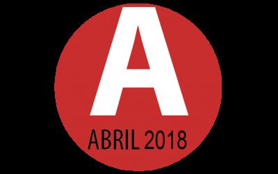 PROGRAMACIÓN ABRIL 2018