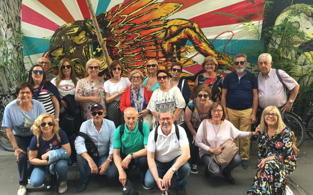 Aulas en Berlin. Los alumnos disfrutan el fin de curso en la capital alemana