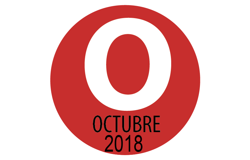PROGRAMACIÓN OCTUBRE 2018