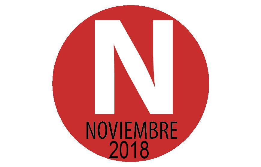 PROGRAMACIÓN NOVIEMBRE 2018